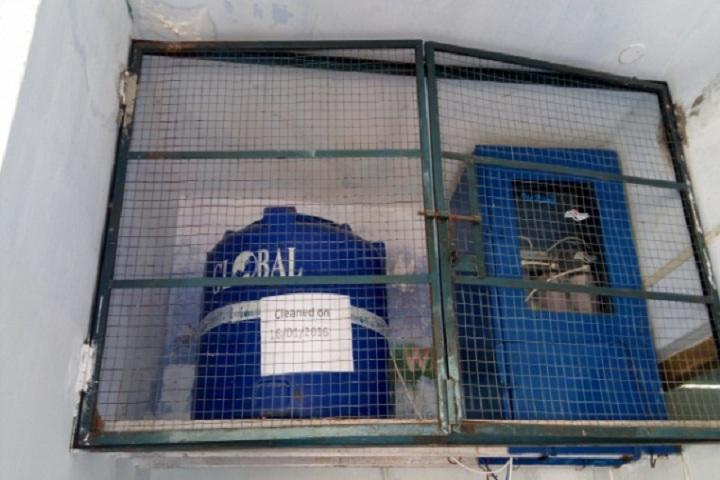 Kendriya Vidyalaya-Last clean water tank
