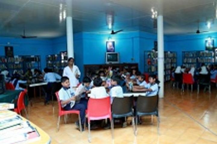 C Syed Mohammed Haji Memorial Central School-Library