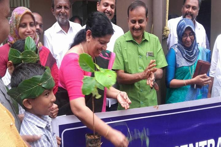 Canadian Central School-Tree Plantation