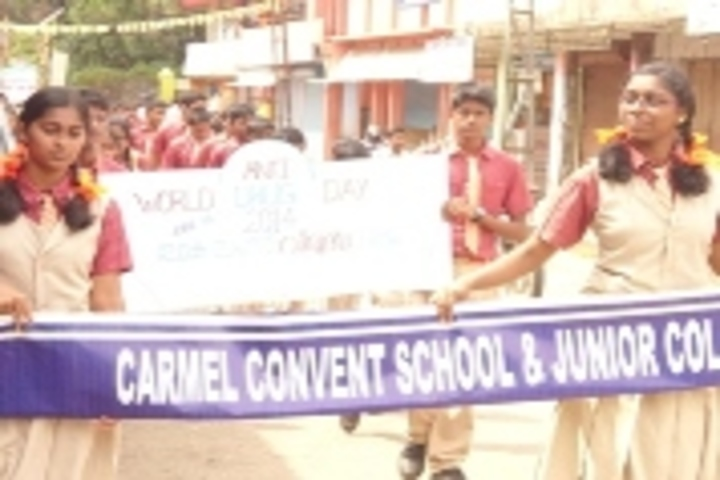 Carmel Convent English Medium School-Anti Drug Day