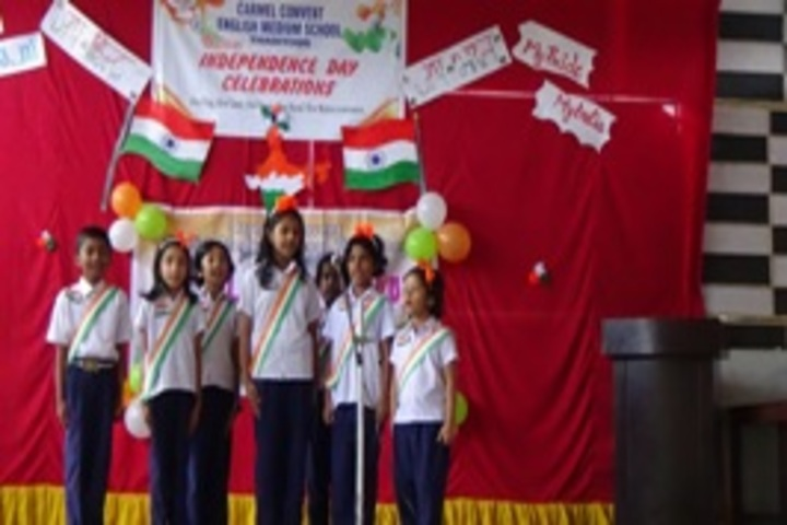 Carmel Convent English Medium School-Independence Day