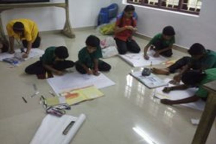 Carmel Convent English Medium School-Poster Designing Activity
