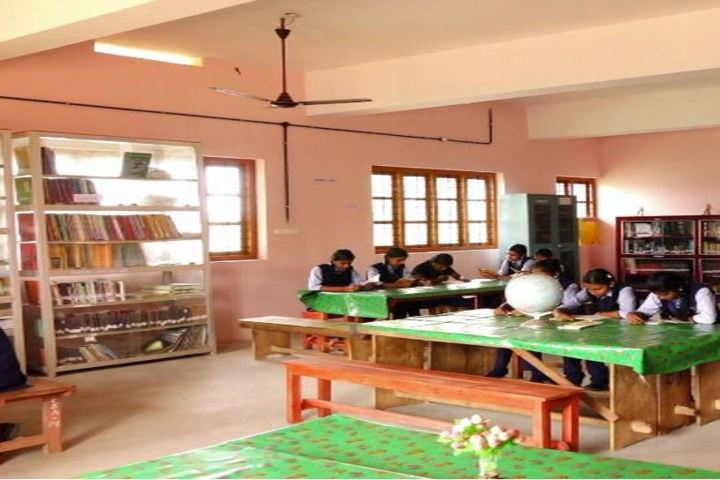 Carmel English Medium School-Library
