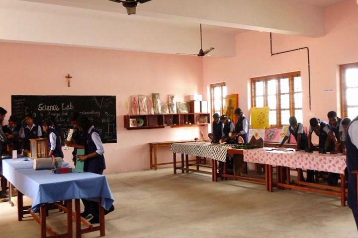 Carmel English Medium School-Science Lab