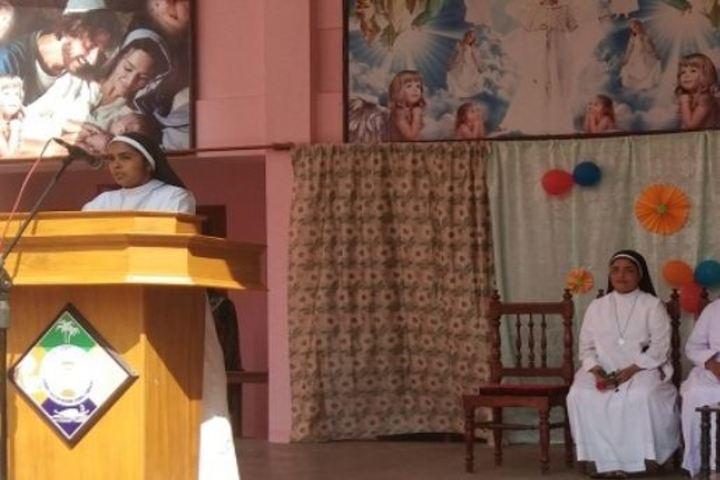 Carmel English Medium School-Speech