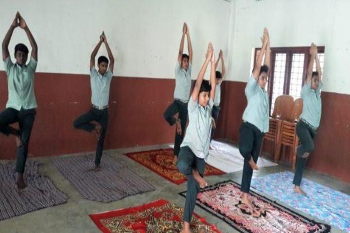 Carmel Rani Public School-Yoga