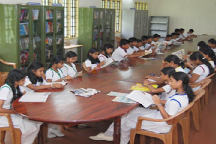 Chavara Darshan CMI Public School-Library