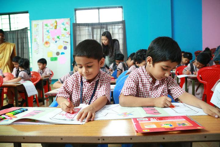 Chavara Public School-Drawing Activity
