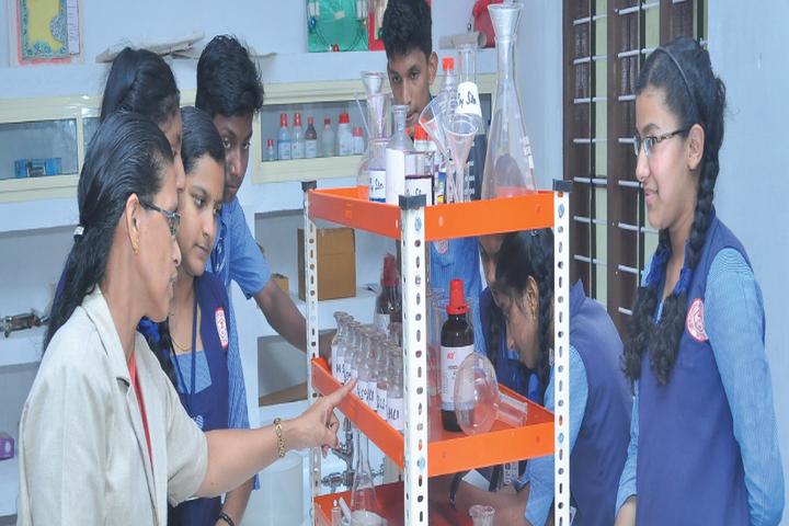Cherupushpa Central School-Chemistry Lab