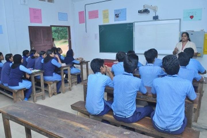 Cherupushpa Central School-Classroom
