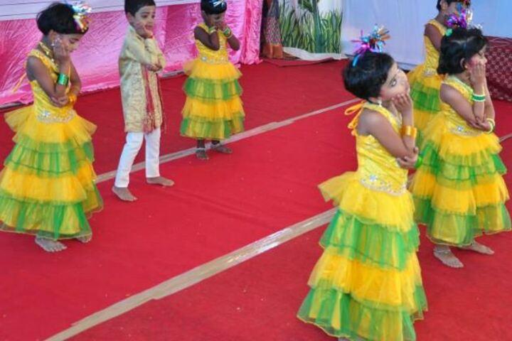 Cherupushpa Central School-Dancing Activity