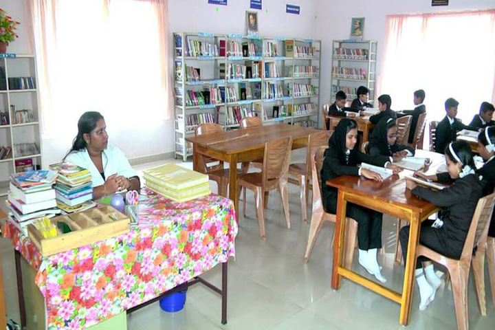 Cherupushpam English Medium School-Library