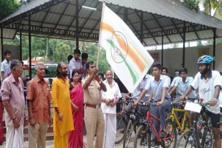 Chinmaya Vidyalaya-State level Cycle Competition