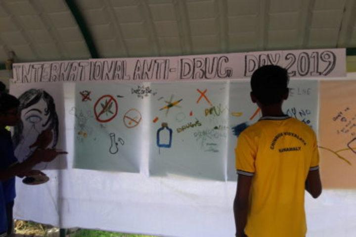 Chinmaya Vidyalaya-Anti Drug Day