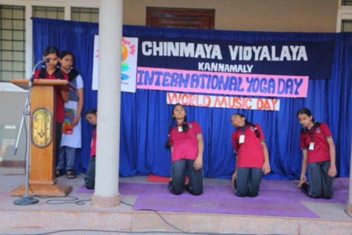 Chinmaya Vidyalaya-International Yoga Day