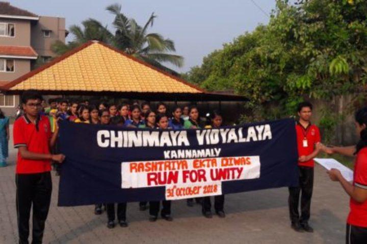 Chinmaya Vidyalaya-Run For Unity