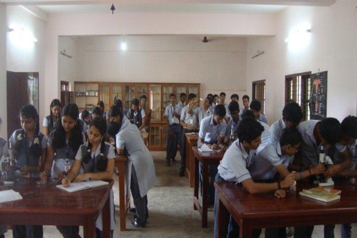 Chinmaya Vidyalaya-Biology Lab