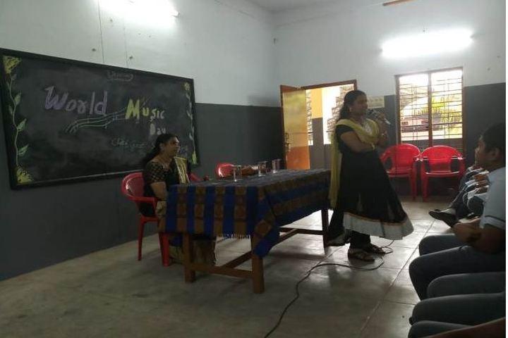 Chinmaya Vidyalaya-Music Activity