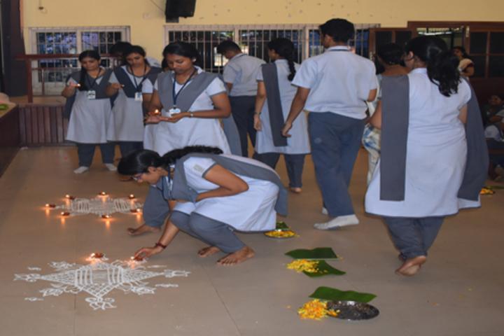 Chinmaya Vidyalaya-Diya Ceremony