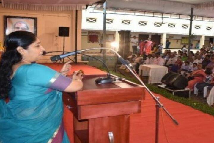 Chinmaya Vidyalaya-Speech