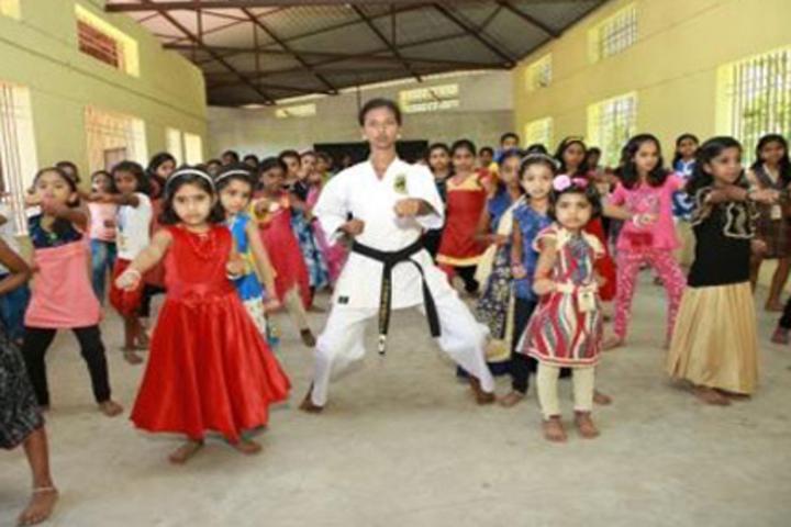 Chinthalaya Vidyalayam-Karate Activity