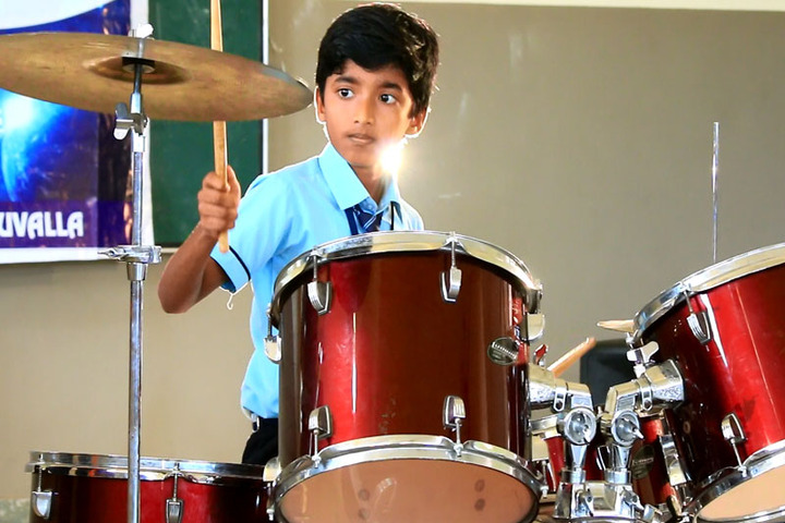 Christ Central School-Music Activity