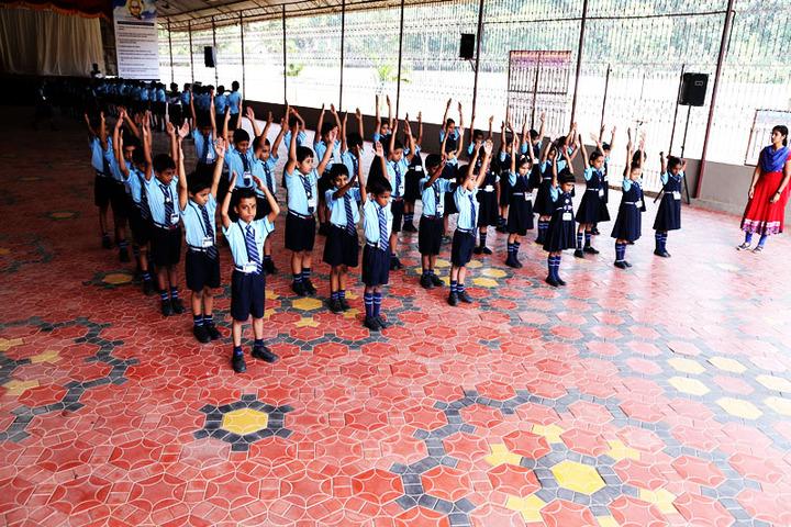 Christ Central School-Yoga Activity