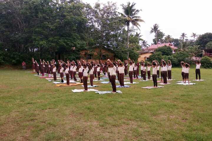 Christ Church Vidyapith-Yoga Day