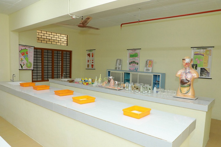 Christ Nagar Central School-Biology Lab