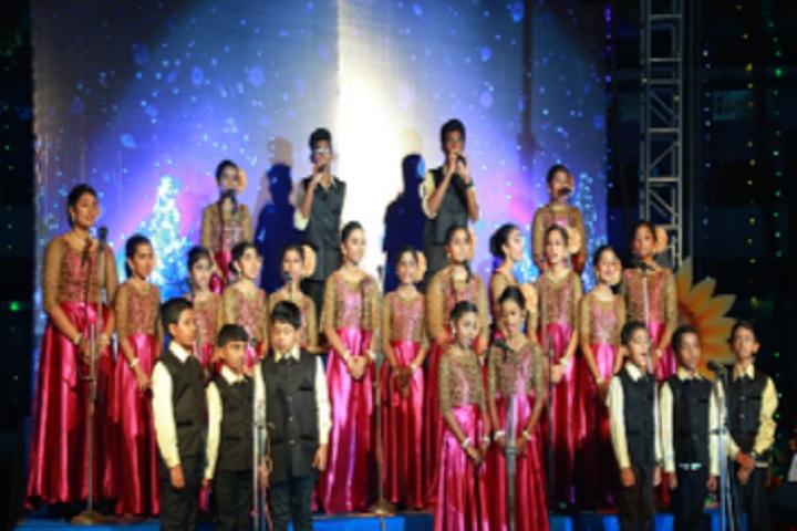 Christ Nagar Central School-Group Song