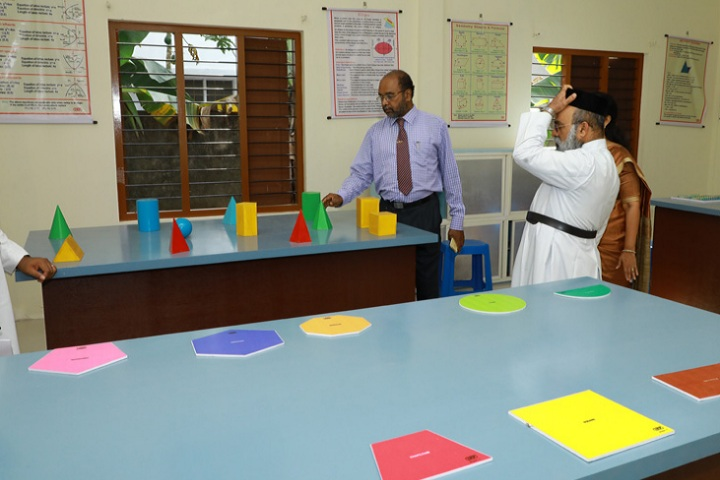 Christ Nagar Central School-Maths Lab