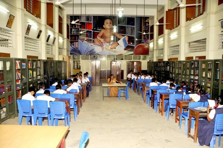 Christ Nagar Central School-Library