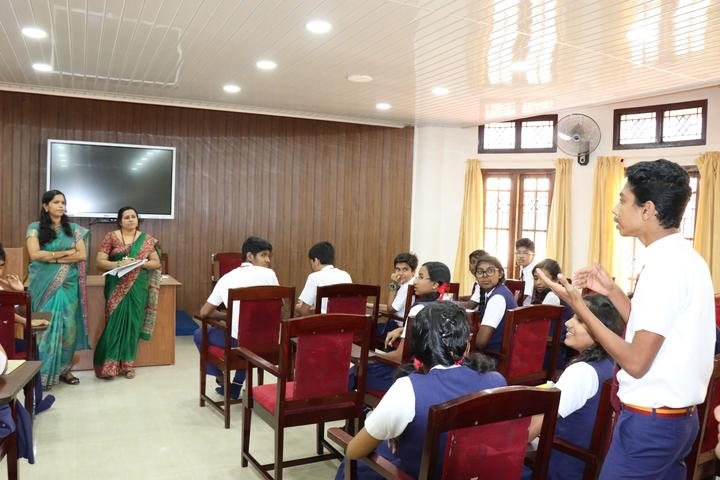 Christ Nagar Senior Secondary School-Digital Classroom