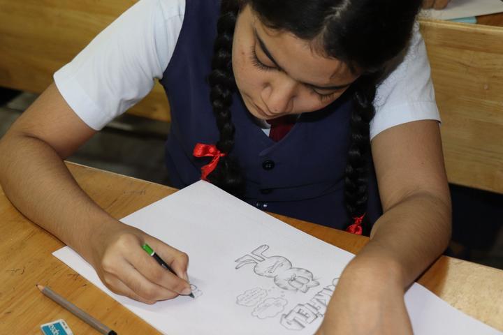 Christ Nagar Senior Secondary School-Drawing Competition