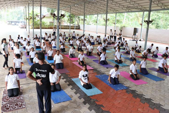 Christ Nagar Senior Secondary School-International Yoga Day