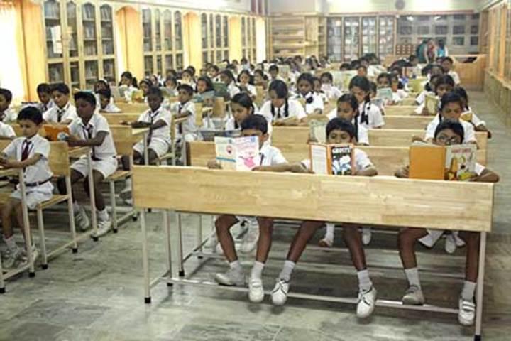 Christ Nagar Senior Secondary School-Library