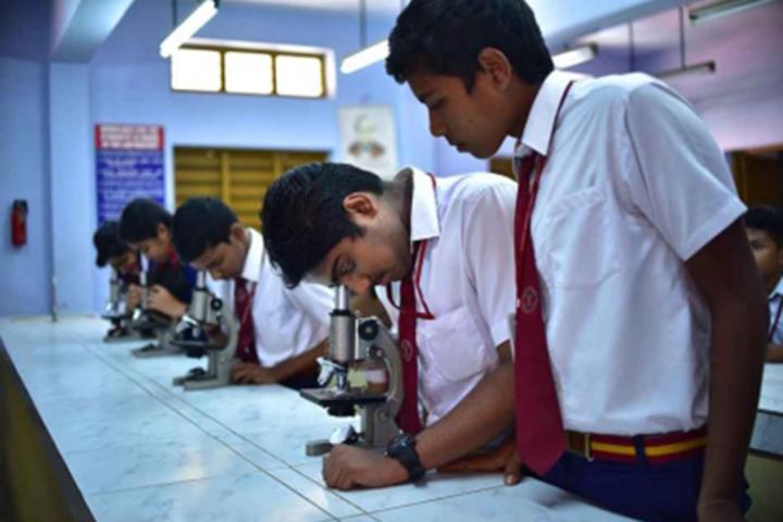 Christ Nagar Senior Secondary School-Science Lab