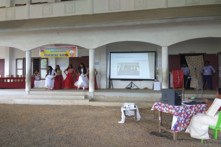 Christhuraja Public School-Teachers Day
