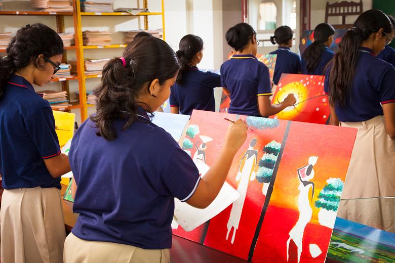 Rajagiri Christu Jayanthi Public School-Art