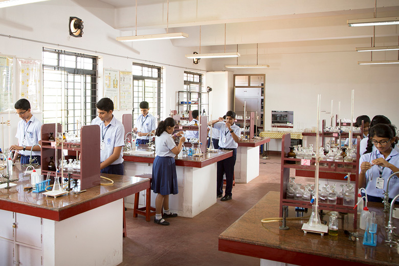 Rajagiri Christu Jayanthi Public School-Chemistry Lab
