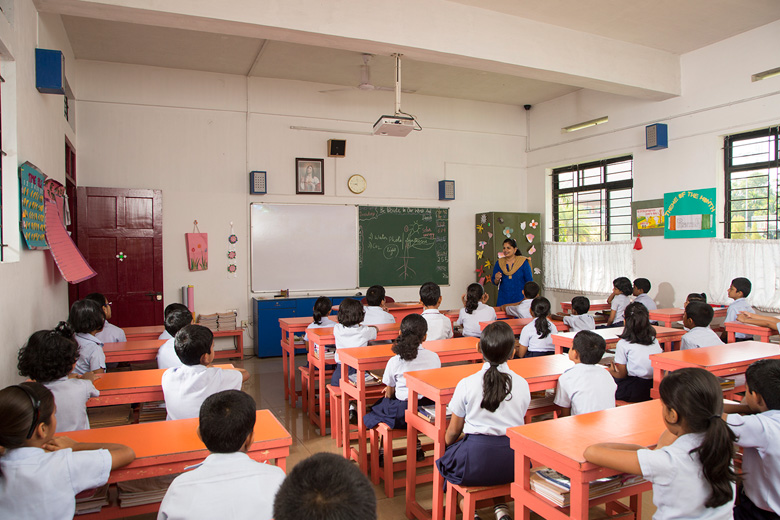Rajagiri Christu Jayanthi Public School-Classroom