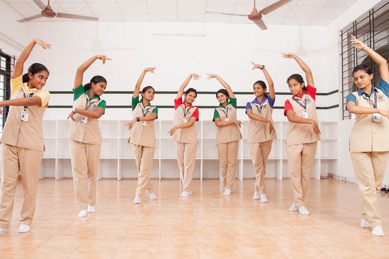 Rajagiri Christu Jayanthi Public School-Dance Room