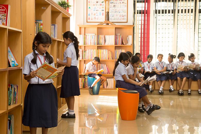 Rajagiri Christu Jayanthi Public School-Library