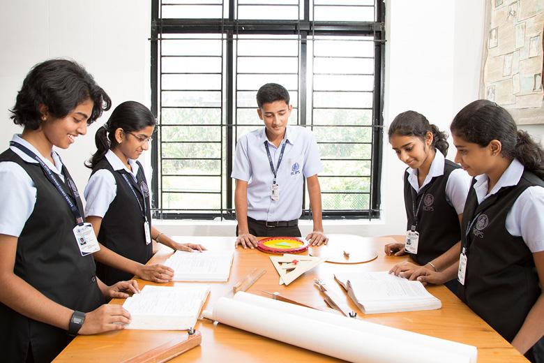Rajagiri Christu Jayanthi Public School-Maths Lab