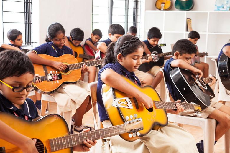 Rajagiri Christu Jayanthi Public School-Music Room