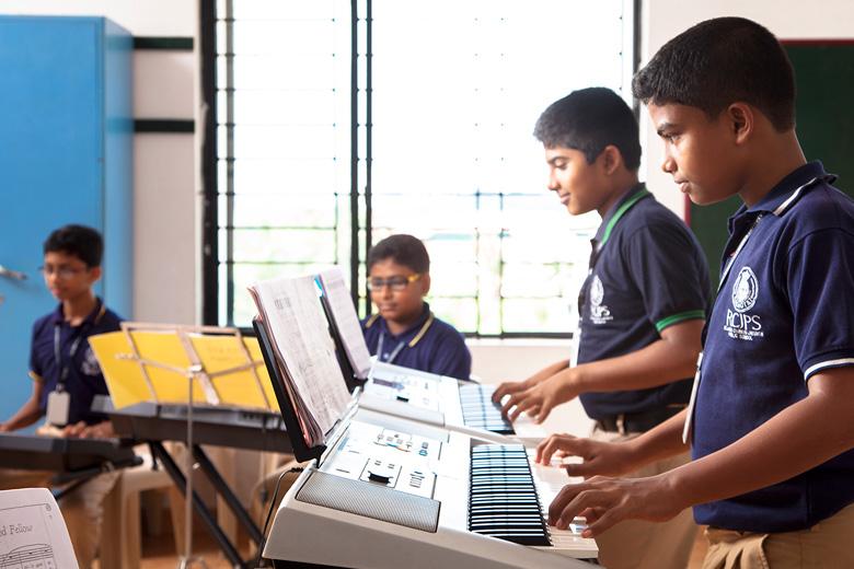 Rajagiri Christu Jayanthi Public School-Organ Room