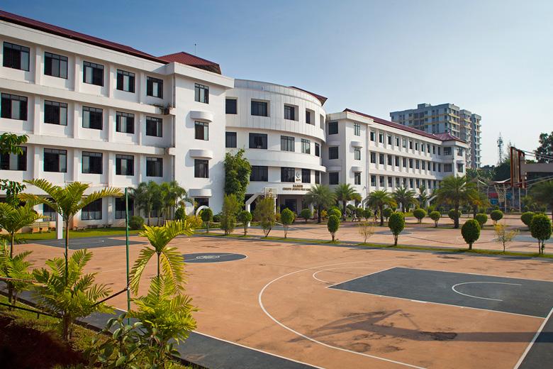 Rajagiri Christu Jayanthi Public School-School Building