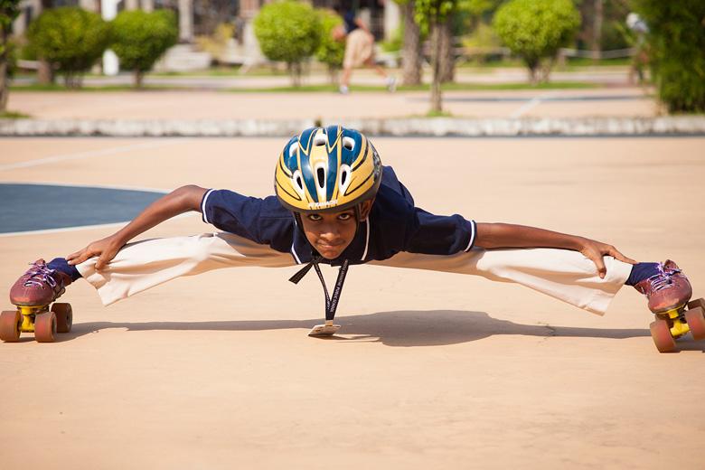 Rajagiri Christu Jayanthi Public School-Skating Activity