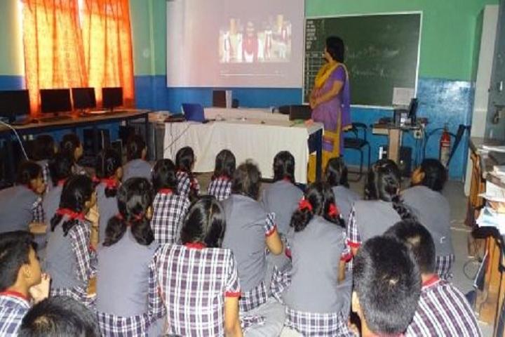 kendriya Vidyalaya - Smart classroom