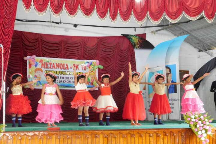 Christu Jyothi Public School-Dancing Activity